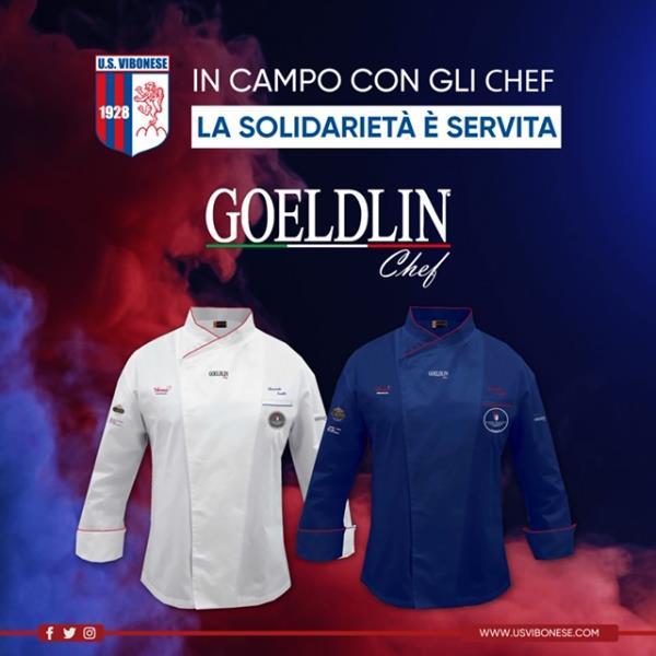 """images Per """"La solidarietà è servita"""" l' U.S. Vibonese Calcio scende in campo con gli chef  firmati """"Goeldlin"""""""