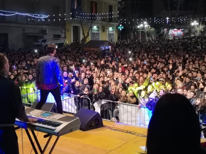 images Capodanno a Cassano allo Ionio, in tre mila in piazza