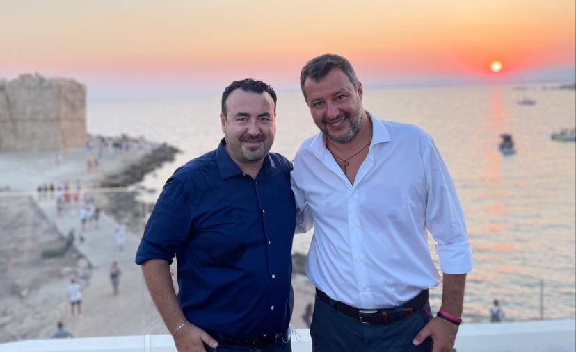 Regionali, Matteo Salvini torna in Calabria: domani a Cutro e a Cirò Marina