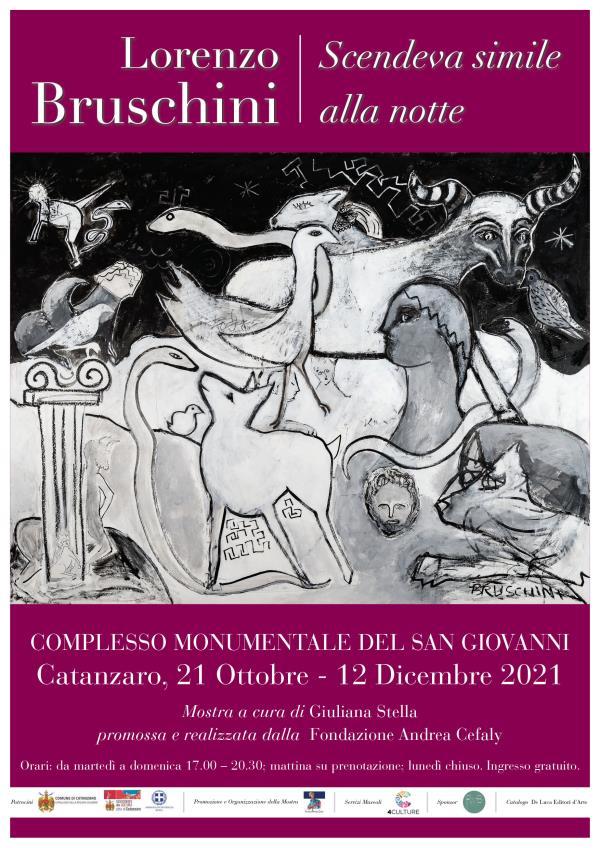 Apre i battenti giovedì al Complesso monumentale San Giovanni di Catanzaro la mostra di Lorenzo Bruschini - Scendeva simile alla notte