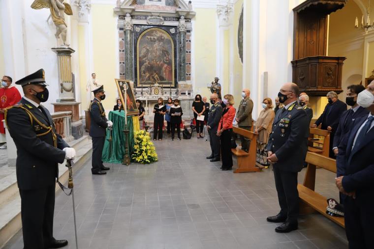 La Guardia di finanza celebra il suo santo patrono San Matteo