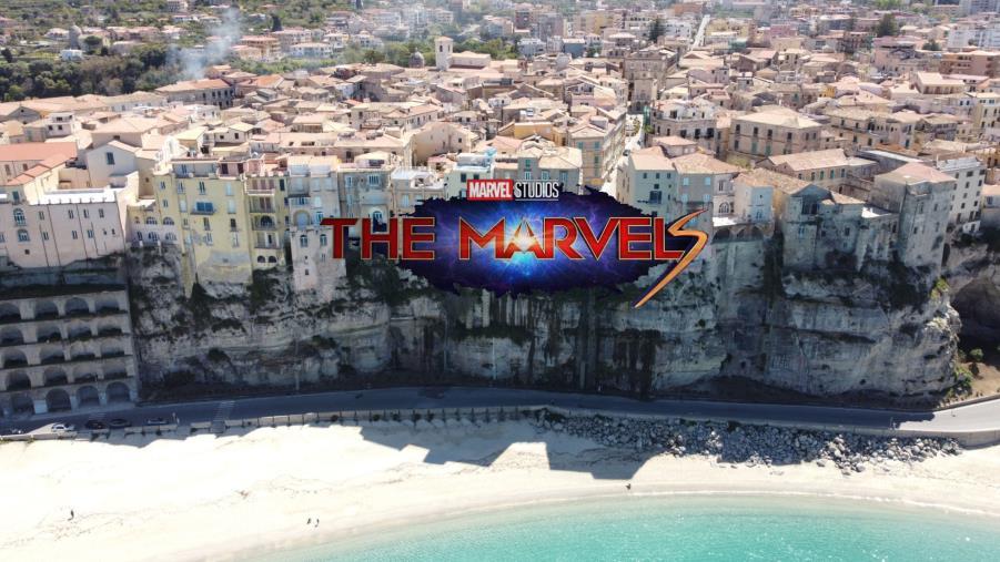 """Tropea set del film """"The Marvel"""", al cinema a novembre 2022"""
