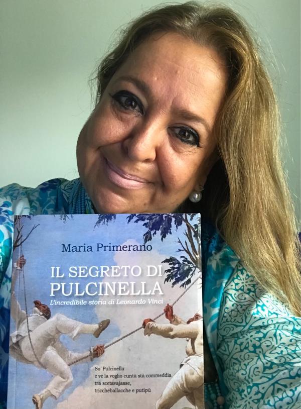 """Domenica al Mumak la dottoressa Maria Primerano presenta il suo ultimo libro """"Il segreto di Pulcinella"""", l'incredibile storia di Leonardo Vinci"""