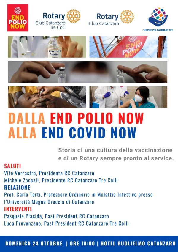 World Polio Day, vaccinazione ieri e oggi: se ne parla domenica in un convegno del Rotary a Catanzaro