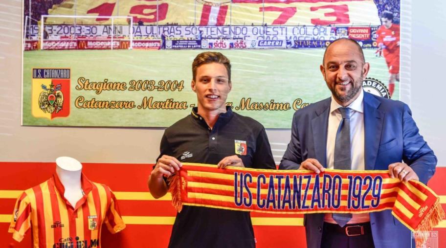 L'Us Catanzaro fa un nuovo acquisto: entra a far parte della squadra giallorossa il difensore Alberto Tentardini