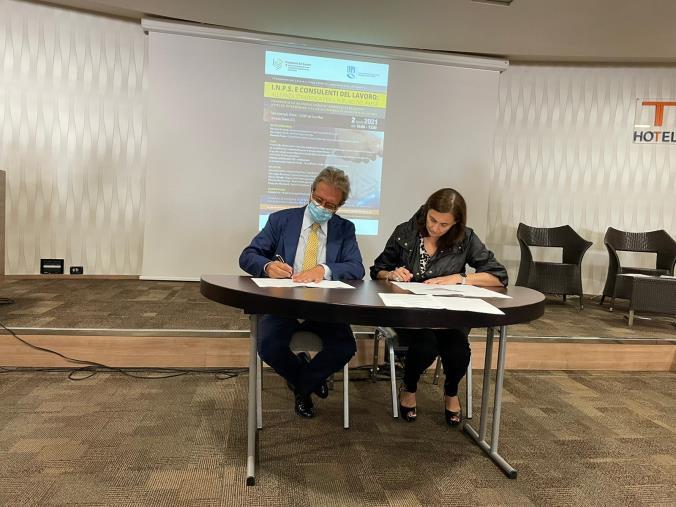 Lamezia Terme. Inps e Consulenti del Lavoro siglano un'alleanza strategica per la Calabria