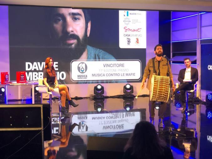 """""""Musica contro le Mafie"""", premiata la musica socialmente impegnata con le creazioni di Antonio Affidato"""