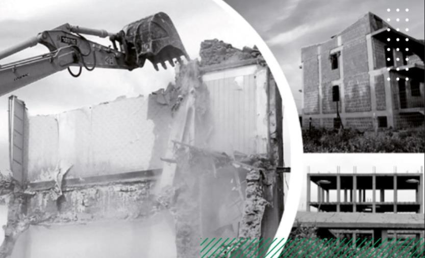 """Legambiente: II Edizione Dossier """"Abbatti l'Abuso"""" sulle mancate demolizioni edilizie nei comuni italiani. In Calabria, su oltre mille ordinanze di demolizione emesse, solo 133 sono state eseguite"""