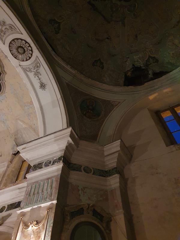 """A Stalettì un cuore FAI """"batte"""" per gli affreschi della chiesa dell'Immacolata Concezione (FOTO E VIDEO)"""