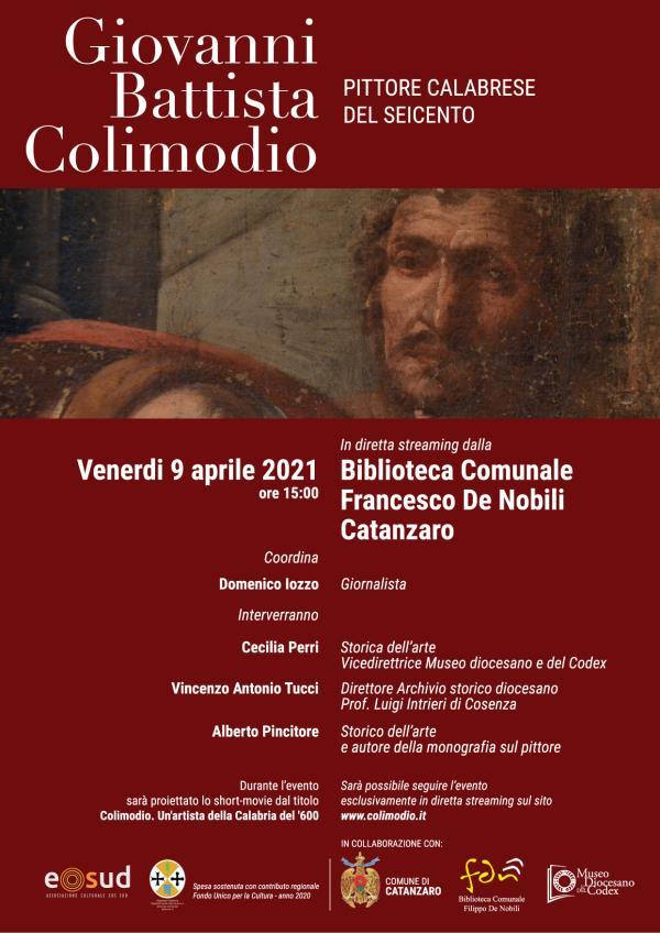 Tra storia e pittura alla riscoperta di Colimodio, artista della Calabria del '600