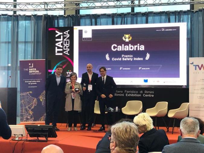 """Ttg di Rimini, alla Regione Calabria il premio """"Covid safety index"""""""