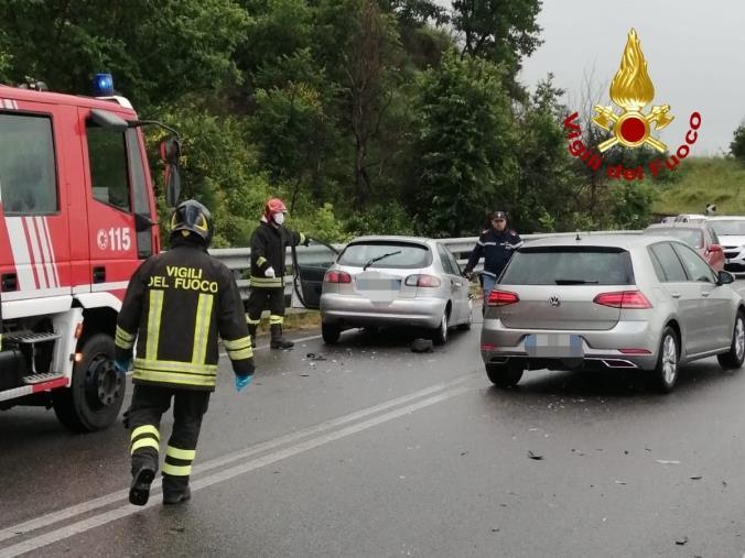 Incidente sulla Ss 107 nel Cosentino: ferito un bambino