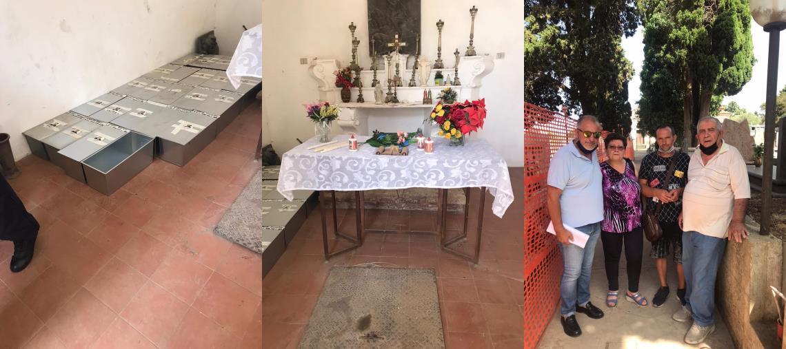 """Caso esumazioni al cimitero di Girifalco. Dopo il sopralluogo con il sindaco, soddisfatto Sergio Costanzo: """"Restituita un po' di dignità al luogo sacro"""""""