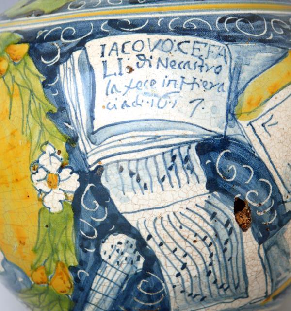 """Dal 4 luglio al via al Museo delle Ceramiche di Calabria a Seminara la mostra """"Da Venezia alla Calabria: la maiolica secentesca di Gerace riscoperta"""""""