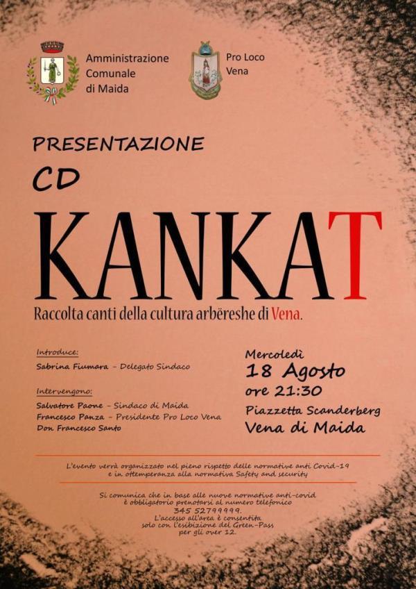 Questa sera a Vena di Maida la presentazione del cd Kankat, raccolta canti della cultura Arbëreshë di Vena