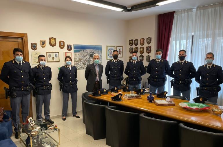 Questura di Crotone: assegnati 14 nuovi agenti