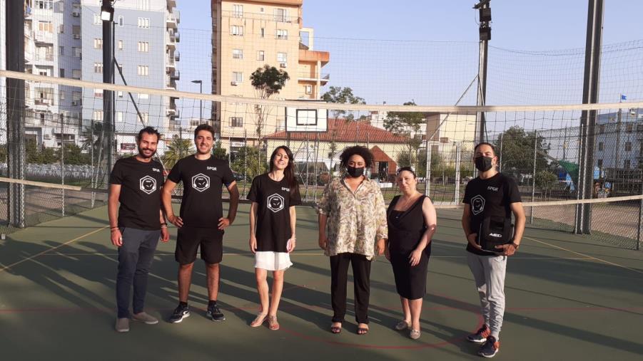 Catanzaro. Universo Minori con l'assessore Concolino dona un defibrillatore per lo sport al Parco Gaslini